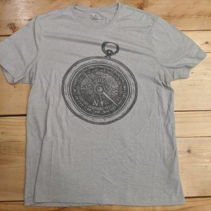 Banana Republic Compass Graphic Tee - Size L